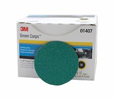 3M 264F 01407 Green Corps Roloc Disc, 3 in, 36YF, 25 discs per box