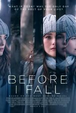 BEFORE I FALL 11.5 x 17 ORIGINAL PROMO MOVIE POSTER - Zoey Deutch - Kian Lawley