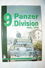 WW2 German 9th Panzer Division 1940-1943 Mushroom Green 4110 Reference Book