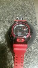 CASIO G-SHOCK Crazy Colors Red/Black  SUPER ILLUMINATOR 200M WATCH