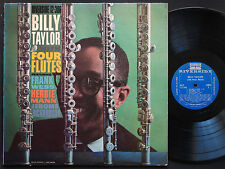 BILLY TAYLOR With Four Flutes LP RIVERSIDE RLP 12-306 US 1959 DG MONO JAZZ