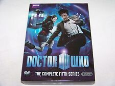 Doctor Who: The Complete Fifth Series Dr Who Season 5 DVD Discs