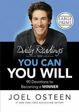 DAILY READINGS FROM YOU CAN, YOU WILL (97814555362 - JOEL OSTEEN (HARDCOVER) NEW