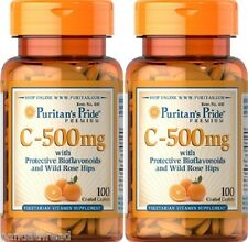2  VITAMINA C 500 MGR 100 COMPR. (defensas y antioxidante) C VITAMIN