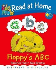 READ AT HOME _ FLOPPY'S ABC _ RODERICK HUNT _ BRAND NEW HARDBACK __ FREEPOST UK