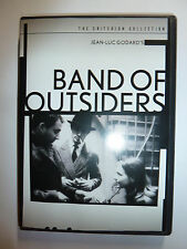 Band of Outsiders DVD classic crime movie Jean-Luc Godard Criterion Collection