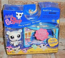 Littlest Pet Shop POLAR BEAR w Ice Cream Shop NOOK 470 VHTF 2007