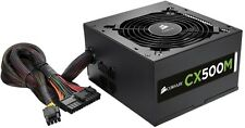 Corsair CX500M 500W PC Gaming PSU Quiet Power Supply - CP-9020059-UK