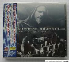 SUPREME MAJESTY ‎– Tales Of A Tragic Kingdom + 1 JAPAN CD OBI RAR! KICP-863
