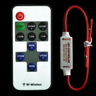 1PCS 12V RF Wireless Remote Switch Controller Dimmer for Mini LED Strip Light