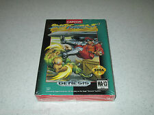 Street Fighter II Special Champion Edition Sega  Unopened Sealed FREE SHIPPING