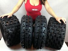 21x7-10 & 20x10-9 ATV TIRE SET (All 4 Tires) HONDA TRX 300EX 400EX 400X 450R