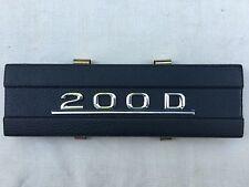Radioschachtabdeckung Radioblende schwarz Typenschild Mercedes 200D W115 115 /8