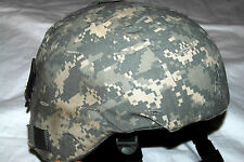 GENUINE US MILITARY ISSUE LEVEL IIIA KEVLAR ACH MICH COMBAT HELMET - X-LARGE