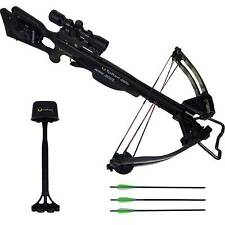 Tenpoint Titan Xtreme Acudraw 50 Crossbow Package Scope Black, CB12047-1531
