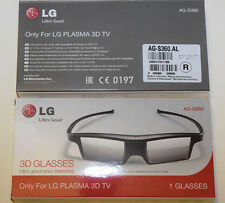 2 x LG AG-S360. Active 3D glasses LG Plasma TV 2012/2013 PM PH series.