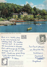 1983 GLENGARRIFF HARBOUR BANTRY BAY COUNTY CORK IRELAND COLOUR POSTCARD