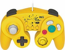 HORI Battle Pad for Wii U (Pikachu Version) with Turbo - Nintendo Wii U