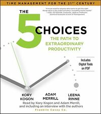 NEW 5 CD The 5 Choices : The Path to Extraordinary Productivity Franklin Covey