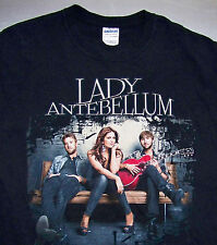 LADY ANTEBELLUM / AMERICAN COUNTRY / NASHVILLE, TN USA / BLACK T-SHIRT SIZE L