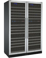 Allavino 344 Bottle Built-In Wine Cooler Refrigerator Stainless Steel Four Zone
