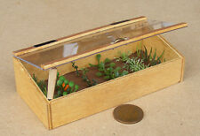 1:12 Wooden Cold Frame Dolls House Miniature Garden Vegetable Food Accessory B1