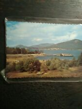 WASHINGTON STATE FERRIES ONE VINTAGE POST CARD ANCORTES FERRY LANDING