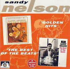 SANDY NELSON - GOLDEN HITS - THE BEST OF THE BEATS - 2 Albums on one CD (NEW CD)