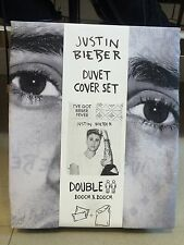 Justin Bieber Double Duvet Set