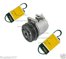 OEm nEw A/C Compressor with pulley Clutch + 2 Belt kit for Volvo c30 c70 s40 v50