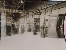 1903 Ferry House Tolls Ticket Booths New York City NYC Photo 6 x 9