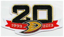 ANAHEIM DUCKS 20TH ANNIVERSARY PATCH 1993 - 2013 DUCKS NHL JERSEY PATCH