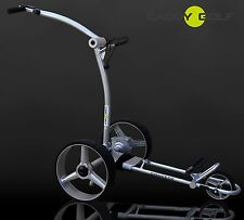 Litio caddy-golf concede Elektro trolley LED plata Timer Memory 350w motor