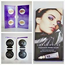 Lot of 2 Urban Decay Eyeshadow Primer Potion Sample Card:Sin,Original,Eden,Aging