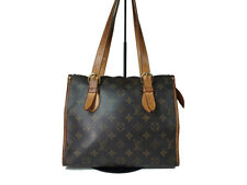 Authentic LOUIS VUITTON Popincourt Haut Monogram Canvas Shoulder Bag LS10677L