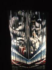 """Joseph Stella """"NY Interpreted: Skyscrapers"""" American Futurist 35mm Art Slide"""