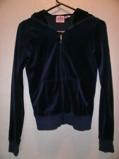 JUICY COUTURE  WOMAN'S BLUE HOODED JACKET  SIZE  SMALL