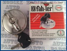 Stainless Steel Locking  Gas Cap Fuel - Tank Filler Cap