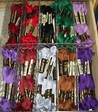 DMC embroidery floss 20 of the The most popular colors