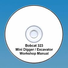 Bobcat 323 Mini Escavatrice Workshop Manuale