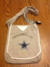 "NWT DALLAS COWBOYS NFL Littlearth GRAY Shoulder  PURSE BAG, 12""H x 10""L"