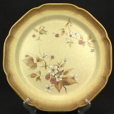RARE Mikasa Raspberry Bouquet Dinner Plate  Whole Wheat EUC