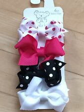 NEW Koala Kids Baby Girl Hair Accessory lot Colorful Bow Barrette Pink  CUTE!
