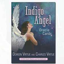 Indigo Angel Oracle Cards by Doreen Virtue A 44 card Deck and Guidebook NEW