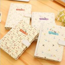 """""""Beautiful Flower"""" 1pc Journal Diary Cute Lined Planner Hard Cover Notebook Gift"""