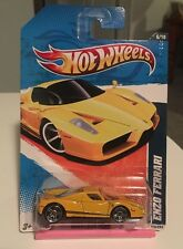 2011 Hot Wheels Nightburnerz Yellow Enzo Ferrari