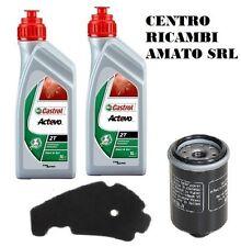KIT TAGLIANDO FILTRO ARIA+OLIO+2LT CASTROL BEVERLY EURO3 500 2002 02