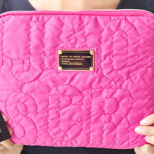 MARC BY MARC JACOBS IPAD AIR PINK PROTECTIVE SLEEVE CASE ZIPPER BAG