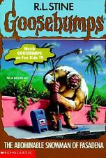The Abominable Snowman of Pasadena Goosebumps #38 by Stine, R. L.