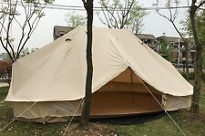 6m Emperor Bell Tent Cotton Canvas Glamping Bell Tent Family Camping Tent